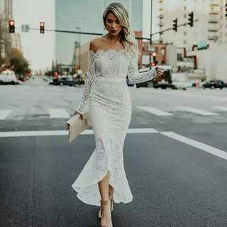 Lace dress no nego