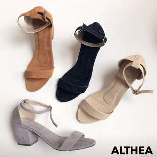 Block Heels and Sandals