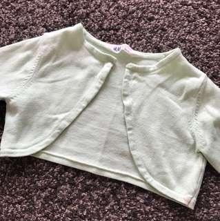 H&M cropped cardigan (6-8Y)