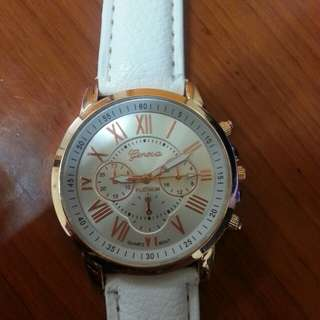 White beautiful watch