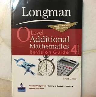 O Level Additional Mathematics Revision Guide 4