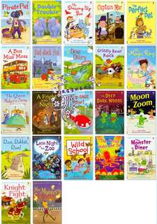 Extra set- USBORNE Very First Reading - 22 books