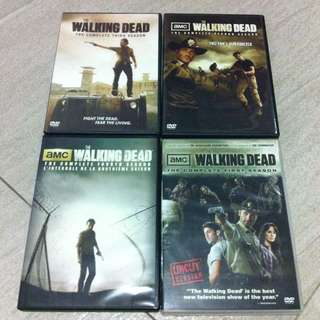 Walking Dead Dvd Set Season 1 To 4
