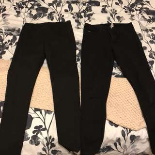 Ladies 10 Black jeans