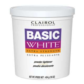Clairol BW Basic White Hair LIghtener Hair Bleach 1 Tub 16oz