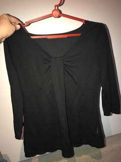 ✨Reduced✨Black blouse