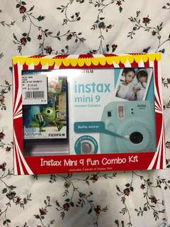 Instax mini 9 fun combo kit