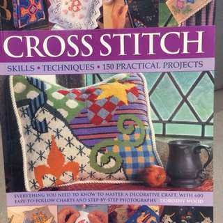 Cross Stitch Book by Dorothy Wood