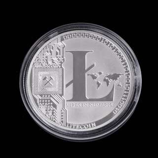 Litecoin LTC CRYPTO Commemorative Collectors Coin Gift