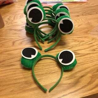 可愛青蛙頭cool玩具7個