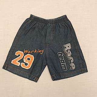 Baju Anak Celana Pendek (Boy 3 yo) #MakinTebel