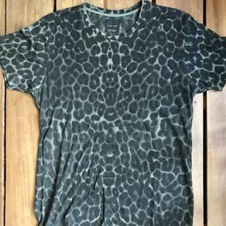 Zara Man leopard print tee