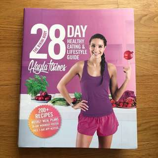 Exercise / Health book: Kayla Itsines 28-Day Healthy Living & Lifestyle Guide:: NET PRICE, NO NEGO