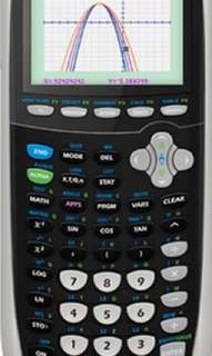 Graphing calculator ti-84 plus c silver edition