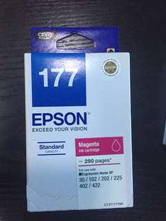 Epson Cartridge 177 (Black, Cyan, Magenta, Yellow)