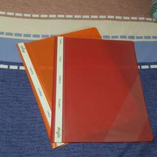 Red And Orange File