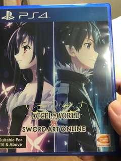 PS4 - SAO Accel world & MR4