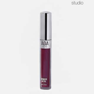 US imported AOA wonder metal liquid lipstick in unicorn