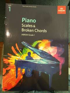 1. Music adventures level 2a lesson book and 2. abrsm grade 1 scales and broken chords