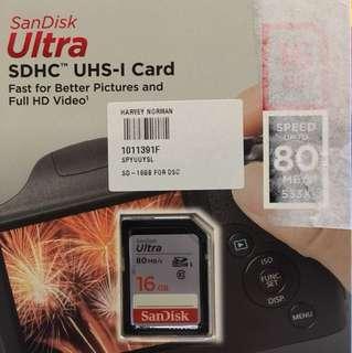 SD Card 16GB