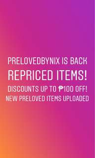 Discounts up to ₱100 off!