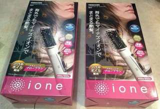 Ion blower brush