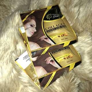 Collagen Vit E C Argan Gold Hair Treatment