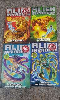 Alien Invaders children adventure books