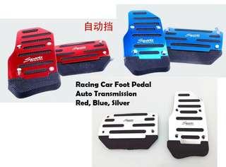 Auto car racing foot pedal anti slip easy fiz