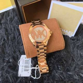 💯Authentic MK watch rose gold