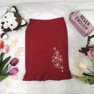 Skirt_Red t'z factory💚