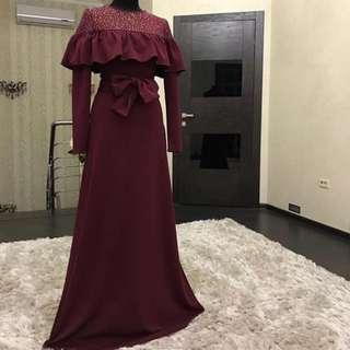 Eve' Infinite Ruffle Knit Dress