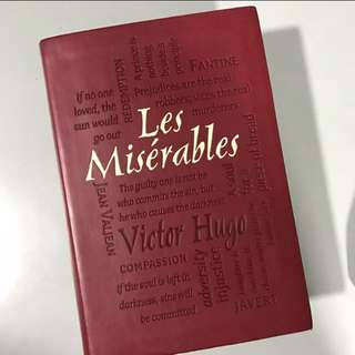 Les Miserables (Leather-Bound, Novelty)