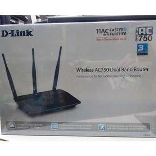 全新 D-Link DIR-809 無線 AC750 雙頻路由器