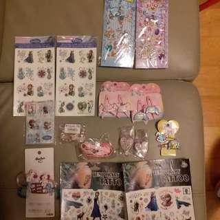 Frozen/Jewel Pets/My Melody. Sanrio精品,共14件