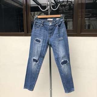 Bull Frog Boyfriend Jeans
