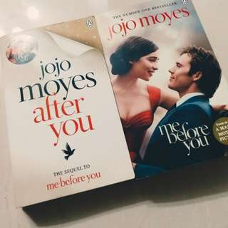 Me Before you & Me After you 英文小說
