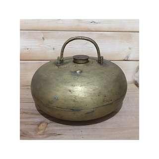 清末民初 銅壺 暖爐 湯婆子