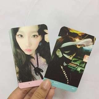 TAEYEON TFU Photocard