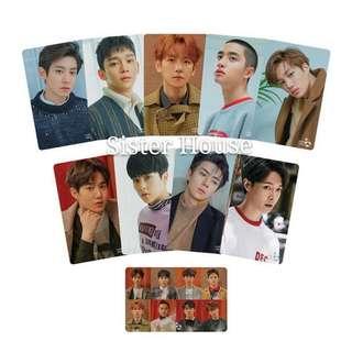(包郵現貨)🇰🇷EXO Cashbee 韓國交通卡