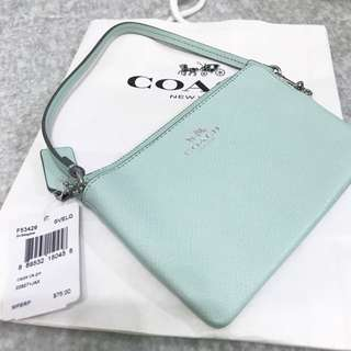 (Brand new) Coach pouch (with paper bag)