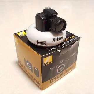 Nikon DSLR USB Hub PC/MAC Compatible