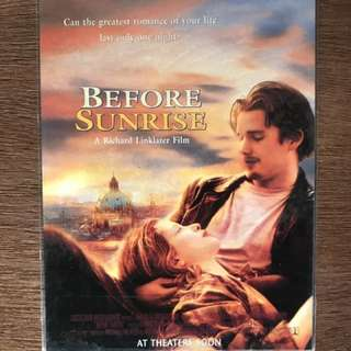 Before Sunrise 電影postcard