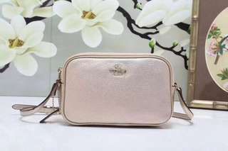Coach Crossbody Pouch - champagne colour
