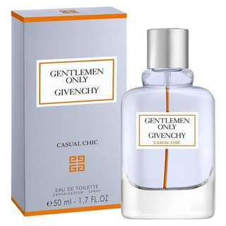 Givenchy Gentlemen Only Casual Chic EDT for Men (100ml/Tester) Gentleman Orange