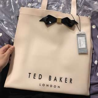 New* Ted Baker London Plain Bow Icon Bag