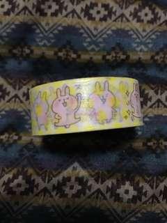 kanahei兔兔紙膠帶