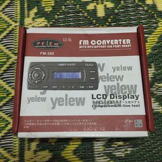 FM Converter with USB Port MP3