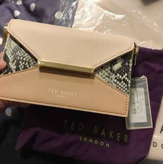 New* ted Baker London texture block shoulder bag