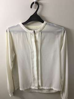 No brand white shirt